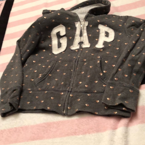 GAP Other - Youth girls size 8 GAP Sherpa lined zip-up hoodie
